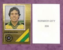 Norwich City Colin Sullivan 224